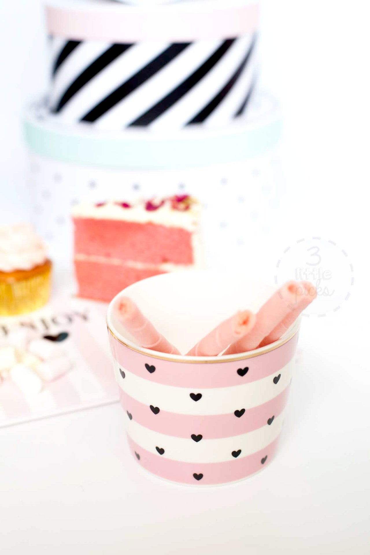 Happy Hearts Snack Pot
