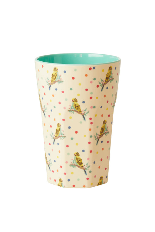 PRE-ORDER: Budgie Two Tone Melamine Tall Cup