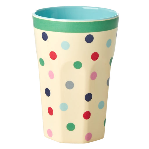 PRE-ORDER: Believe in Red Lipsticks Dots Two Tone Tall Cup