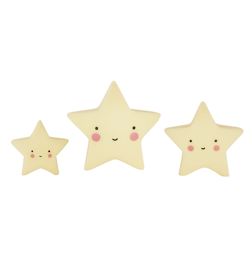 Mini Yellow Stars, Toy, A Little Lovely Company - 3LittlePicks