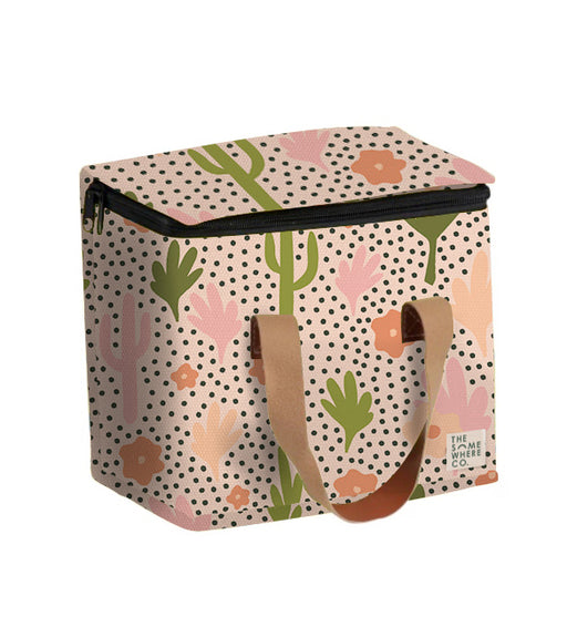 Blooming Cacti Medium Lunch Bag