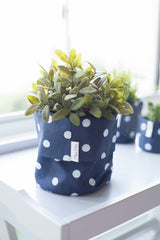 White Polka, Planter, Miss Pots - 3LittlePicks