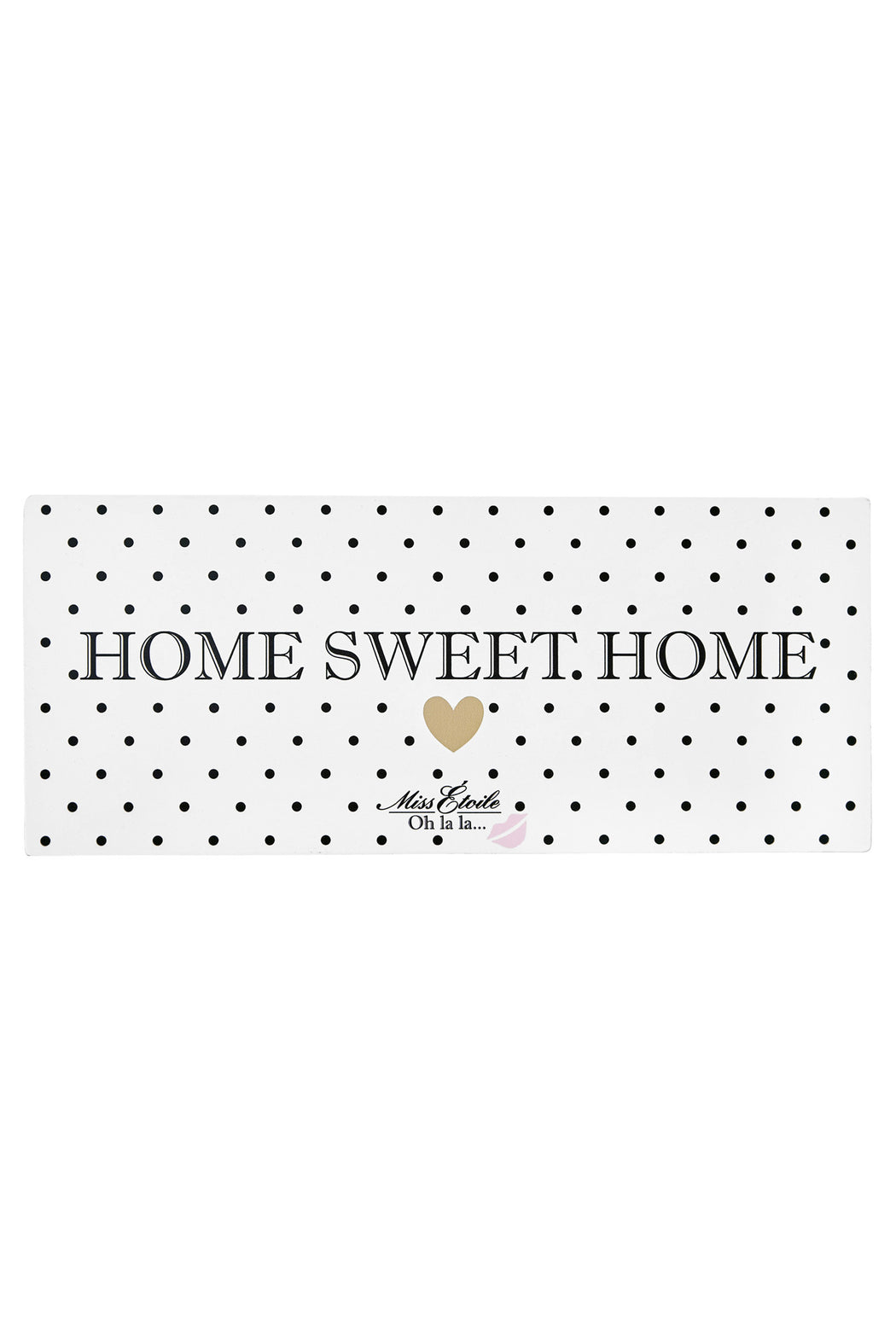 Home Sweet Home Metal Sign, Decor, Miss Etoile - 3LittlePicks