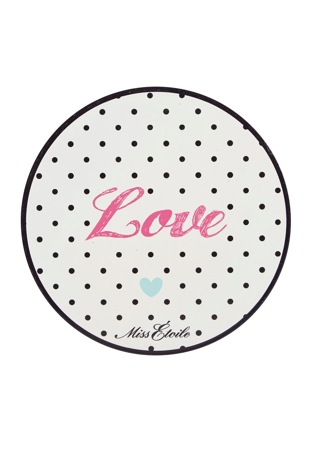 Polka Love Metal Sign