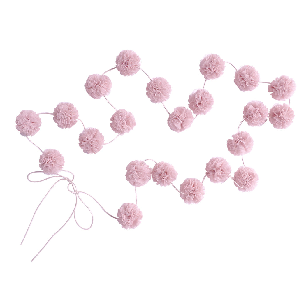 Mini Pom Pom Garlands Blush, Decor, Spinkie - 3LittlePicks
