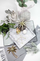 Light Grey Marble Tray