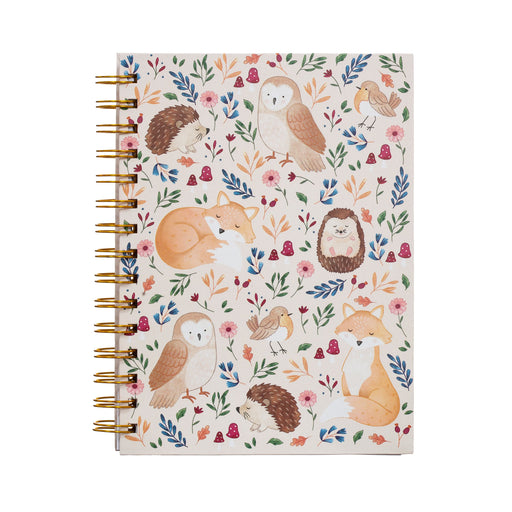 Forest Folk A5 Notebook