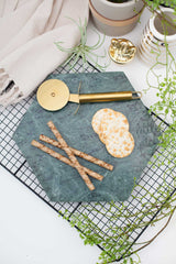 Green Hexagonal Marble Tray