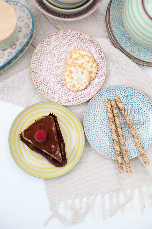 Patrizia Side Plate, Dining, Bloomingville - 3LittlePicks