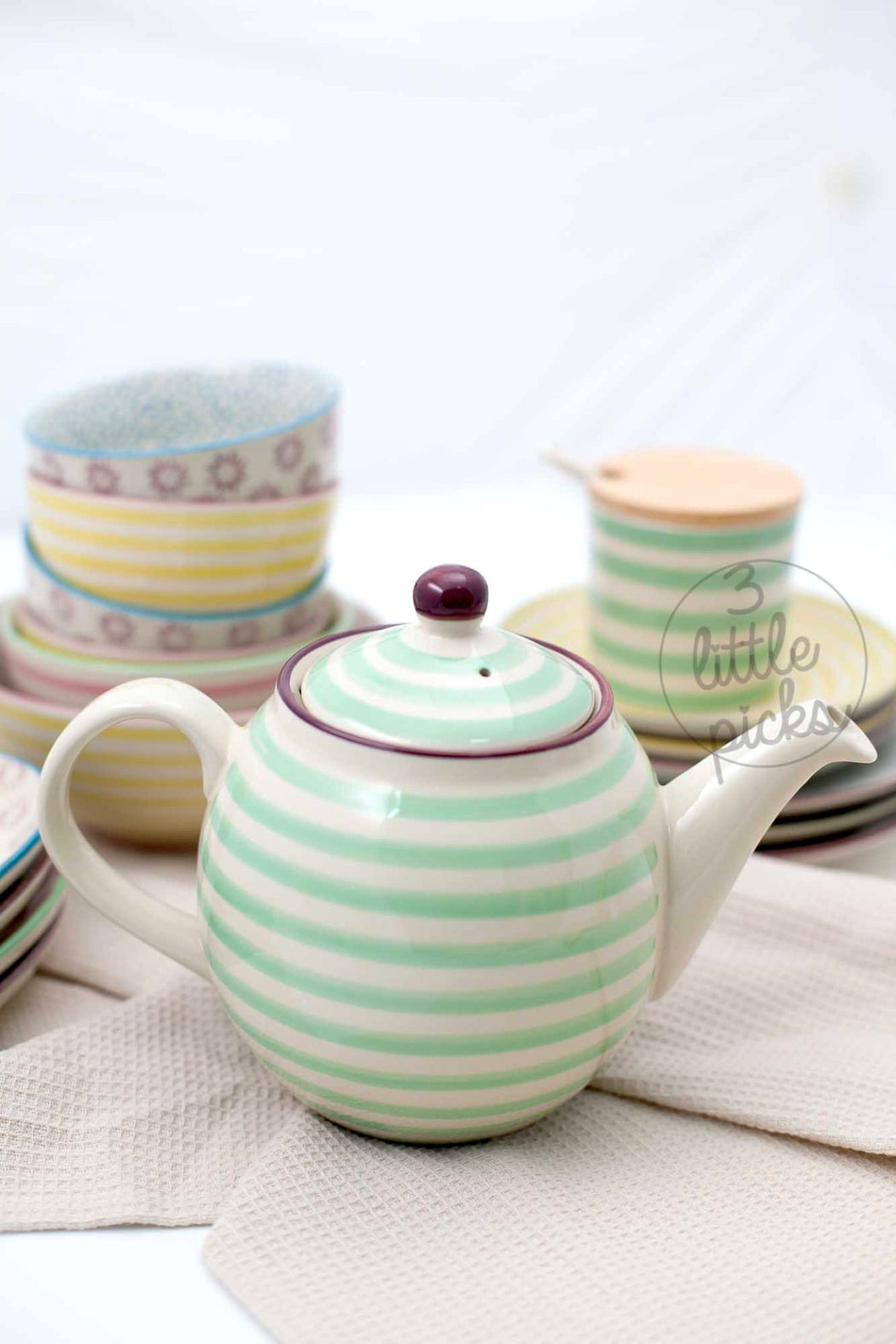 Patrizia Teapot, Dining, Bloomingville - 3LittlePicks