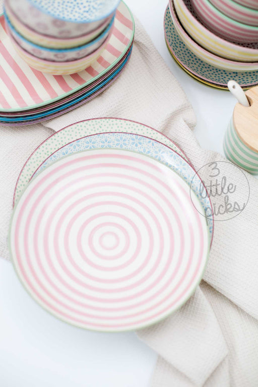 Patrizia Round Plate, Dining, Bloomingville - 3LittlePicks