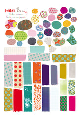 Label Sheet Fun Pack, Decor, MIMI' lou - 3LittlePicks