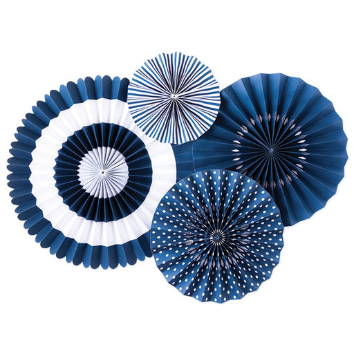 Blueberry Party Fans, Partyware, My Mind's Eye - 3LittlePicks