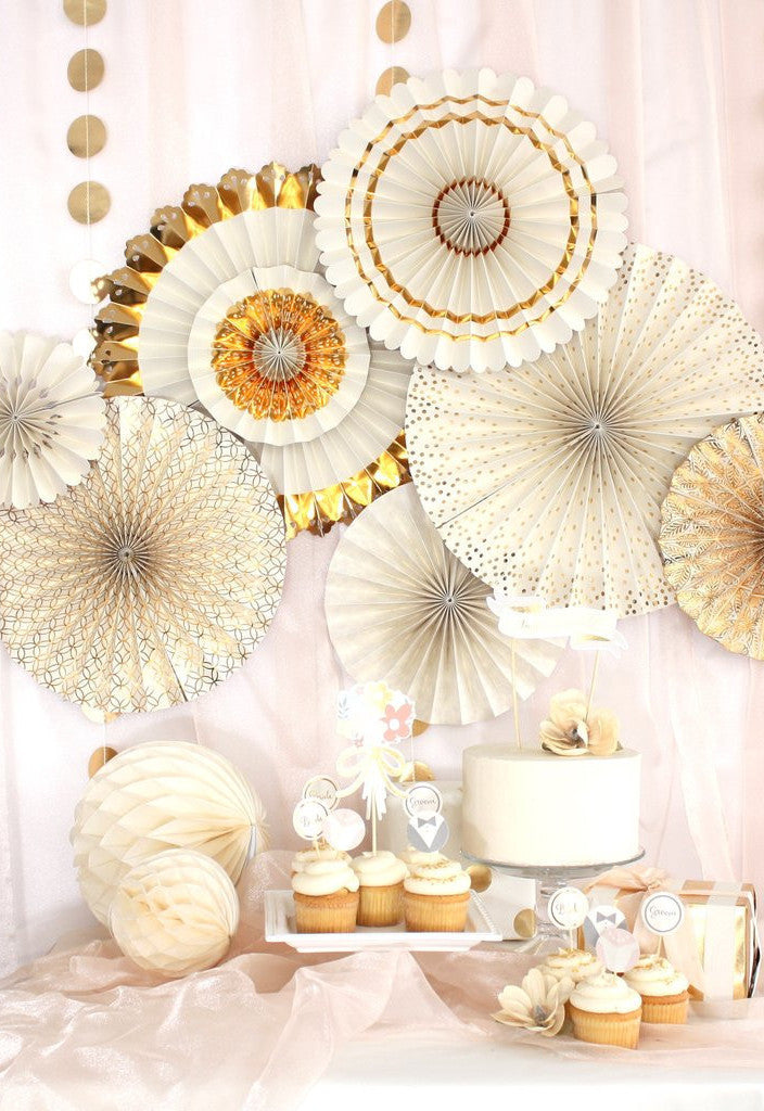Fancy That Wedding Party Fans, Partyware, My Mind