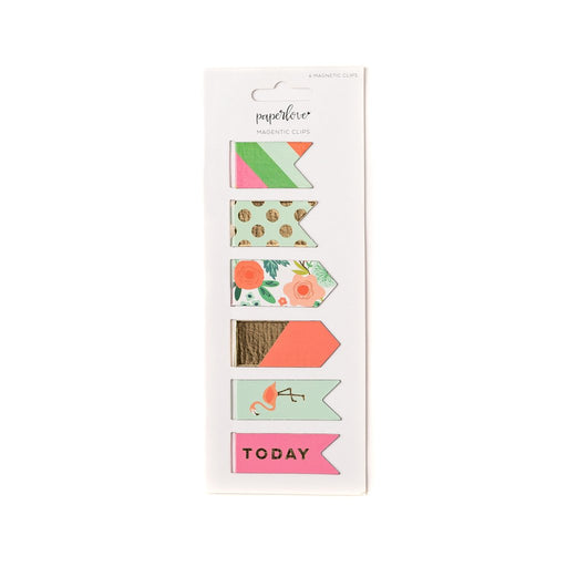 Trend Floral Magnetic Clips, Stationary, My Mind's Eye - 3LittlePicks