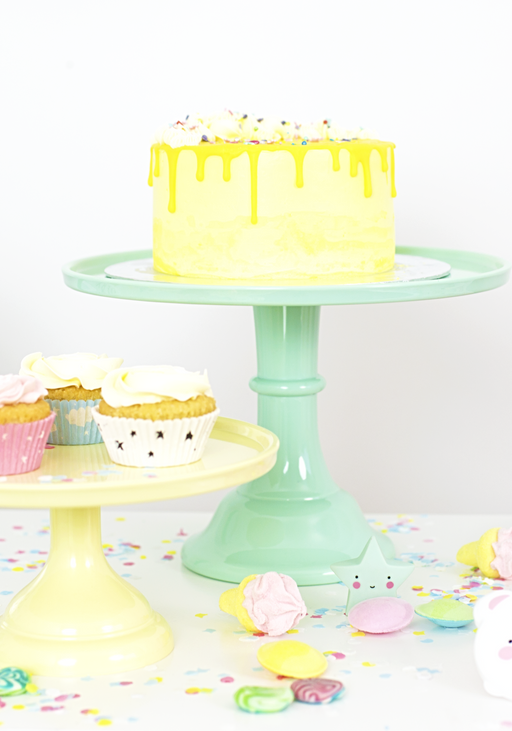 COMING BACK: Large Mint Cake Stand, Serveware, A Little Lovely Company - 3LittlePicks