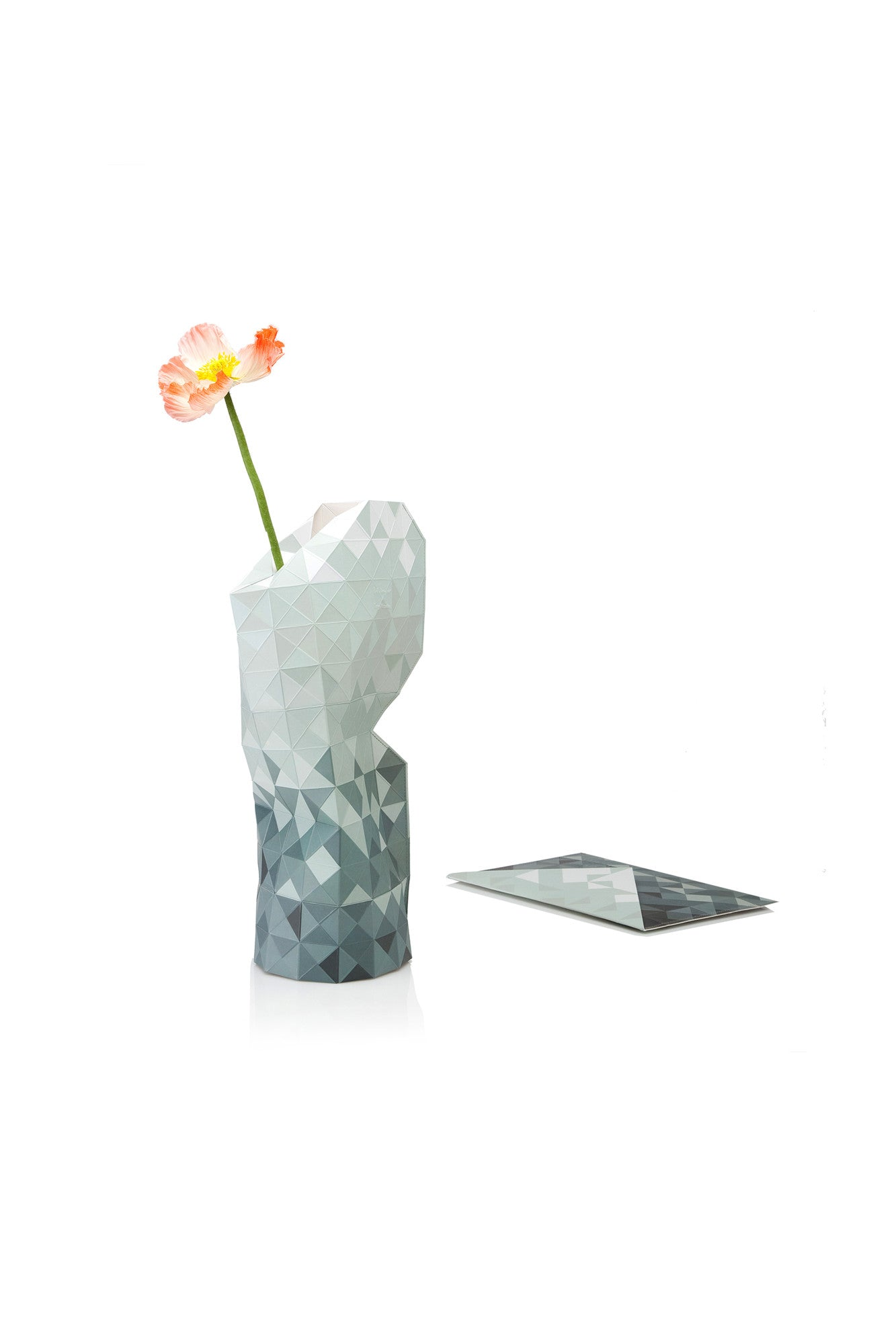 Large Grey Gradients Vase Cover