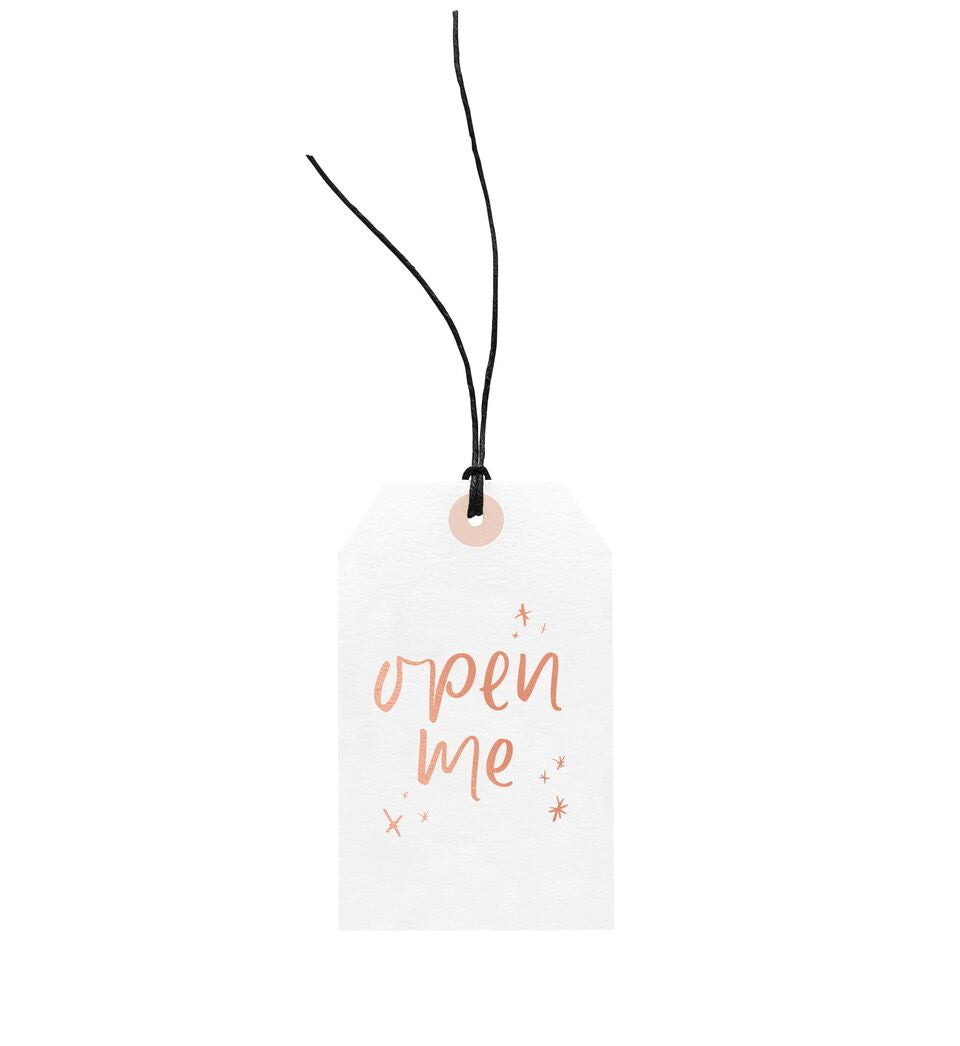 Open Me Gift Tag, Stationary, Emma Kate Co. - 3LittlePicks