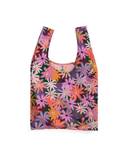 Floral Forest Reusable Shopping Bag, Lifestyle, Blushing Confetti - 3LittlePicks
