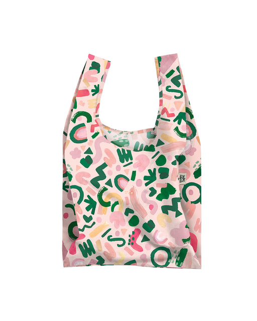 Champagne Allsorts Reusable Shopping Bag, Lifestyle, Blushing Confetti - 3LittlePicks