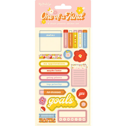 One of A Kind Planner Sticker Sheet