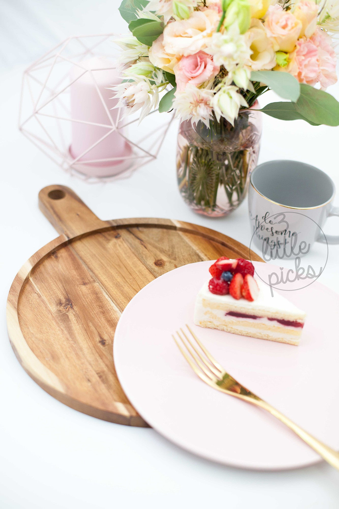 Alberte Serving Board, Serveware, Bloomingville - 3LittlePicks
