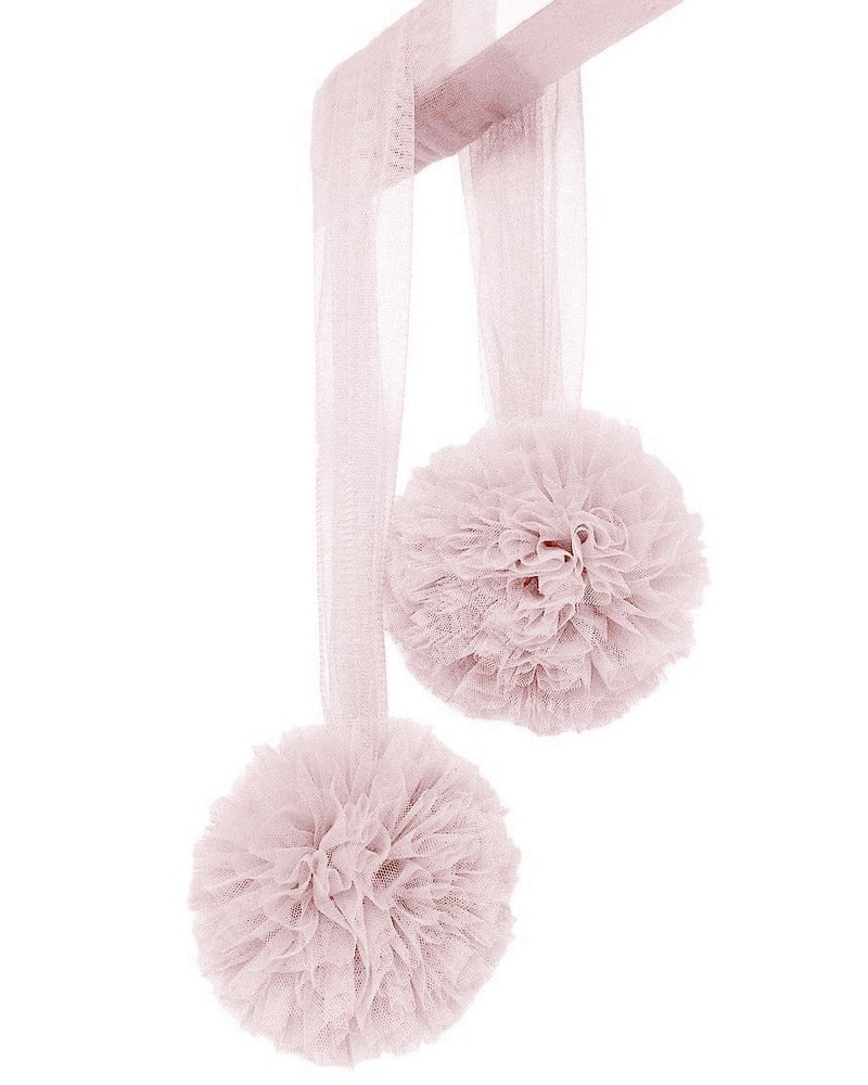 Pom Pom Garland Pale Rose, Decor, Spinkie - 3LittlePicks