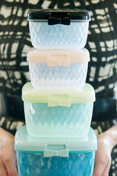 Pastel Food Container Set