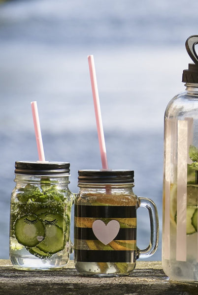 Chic Glass Jars