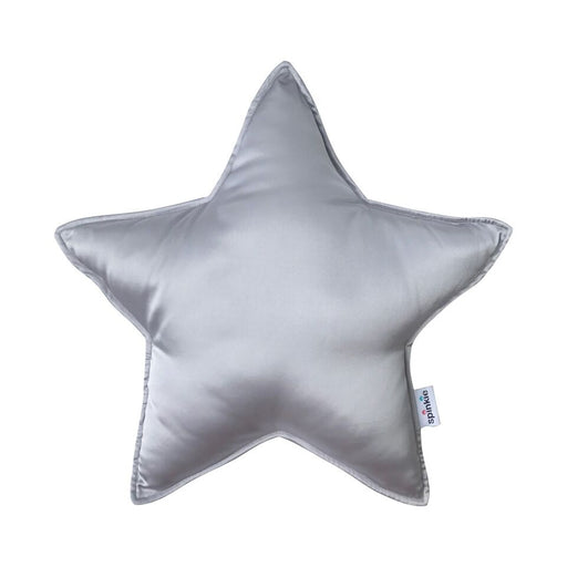 Charmeuse Star Pillow Silver, Cushion, Spinkie - 3LittlePicks