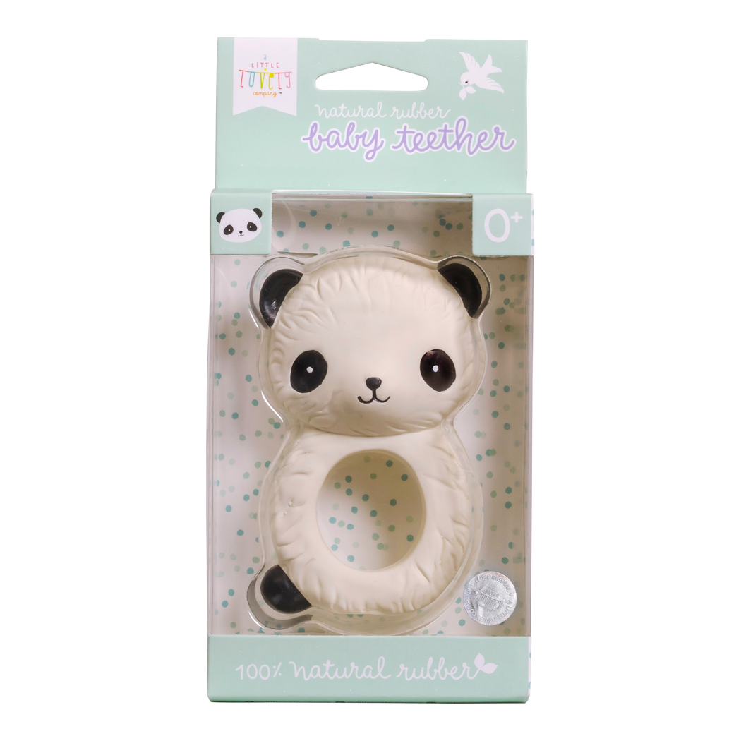 Panda Teething Ring, Toy, A Little Lovely Company - 3LittlePicks