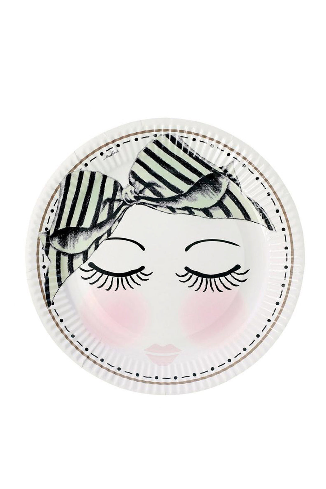 Eyes And Dots Party Plates, Partyware, Miss Etoile - 3LittlePicks