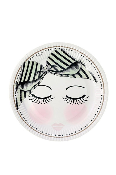 Eyes And Dots Party Plates