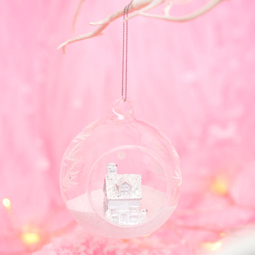 Frosty Home Open Bauble