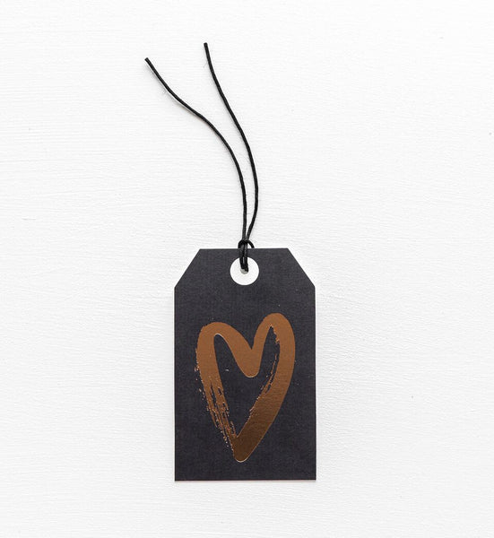 Copper Heart Gift Tag