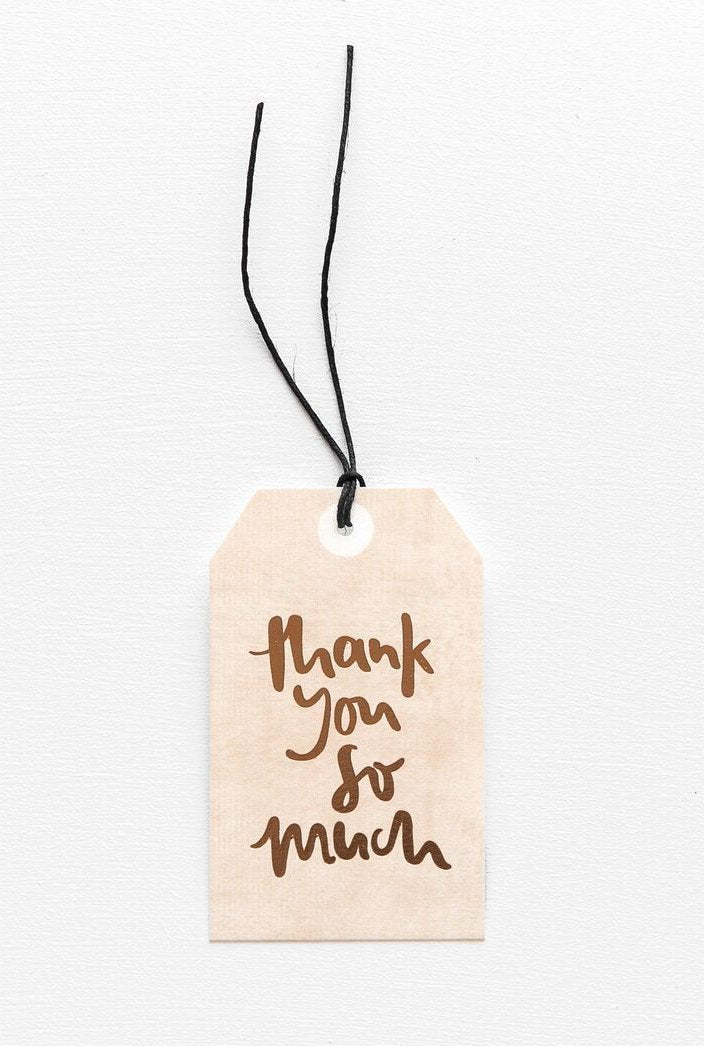 Thank You So Much Gift Tag, Stationary, Emma Kate Co. - 3LittlePicks