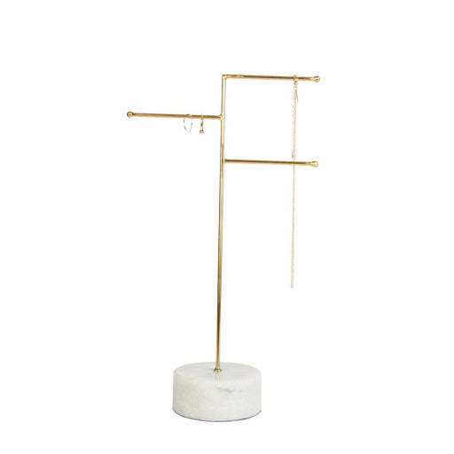 Marble & Brass Jewellery Stand, Decor, Sass & Belle - 3LittlePicks