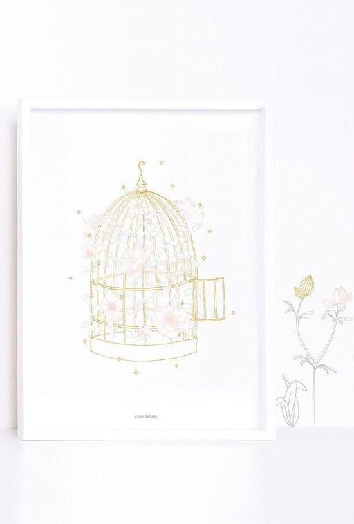 Botany Cage and Flowers, Decor, Lilipinso - 3LittlePicks