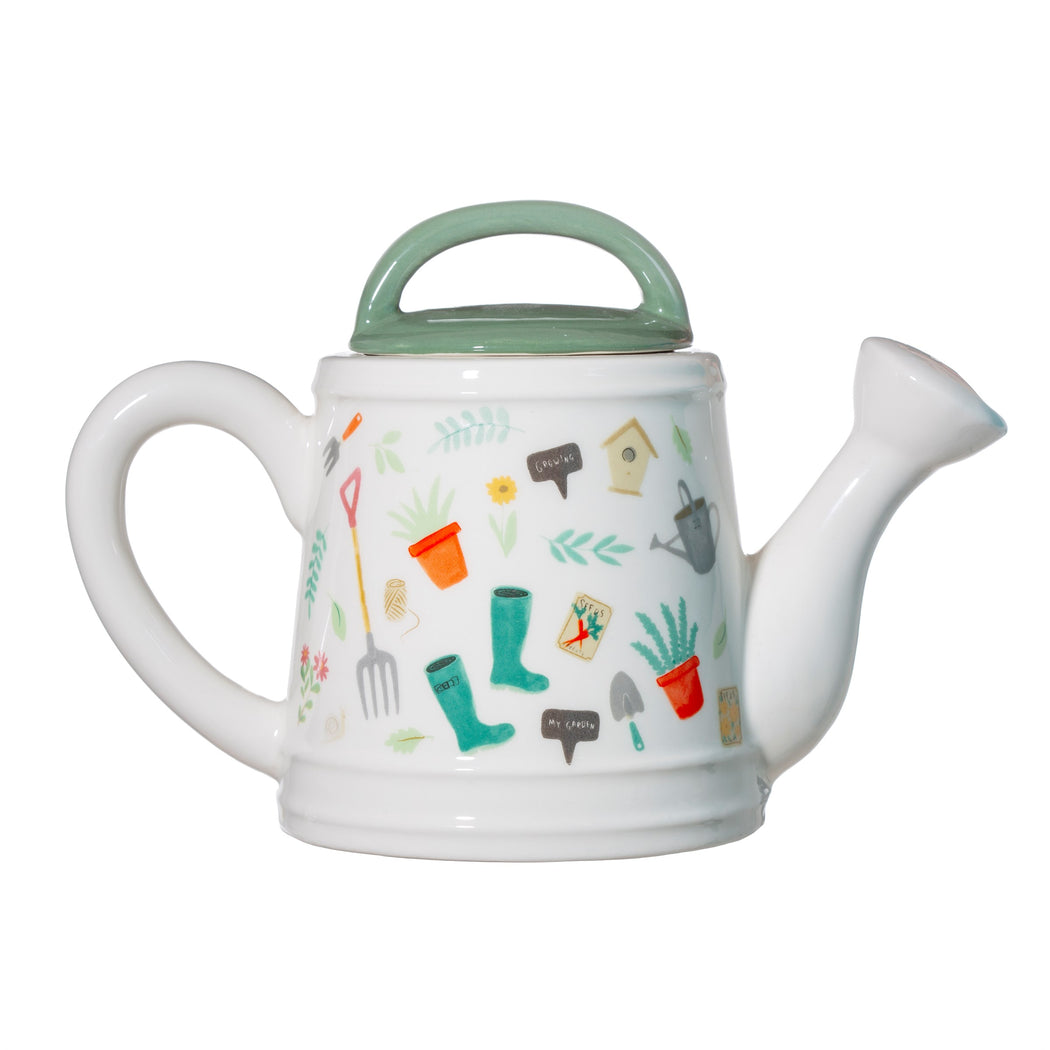 Leafy Living Watering Can Teapot