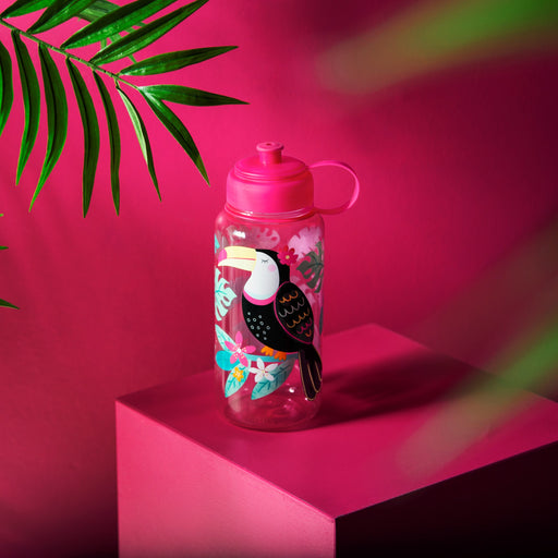 Tiki Toucan Water Bottle, Drinkware, Sass & Belle - 3LittlePicks