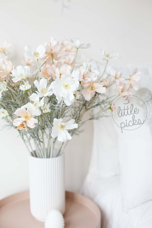 COMING BACK: Artificial Cosmos Flowers, Decor, 3littlepicks - 3LittlePicks