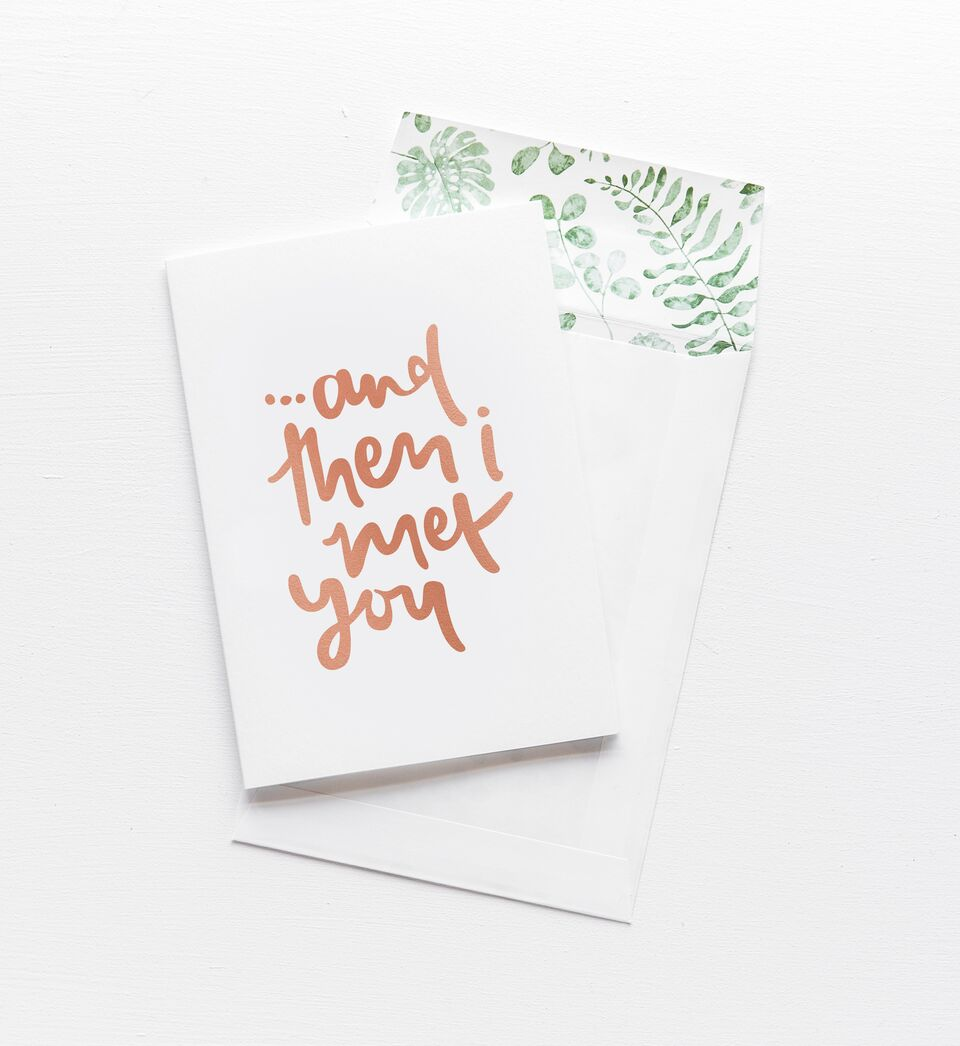 And Then I Met You, Stationary, Emma Kate Co. - 3LittlePicks