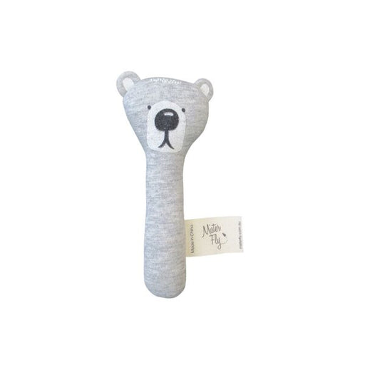 Bear Hand Held Rattle, Cushion, Mister Fly - 3LittlePicks