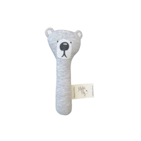 Bear Hand Held Rattle