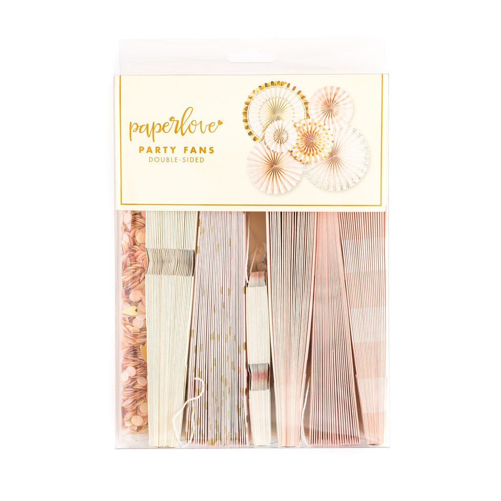 Bride To Be Party Fans And Confetti, Partyware, My Mind's Eye - 3LittlePicks