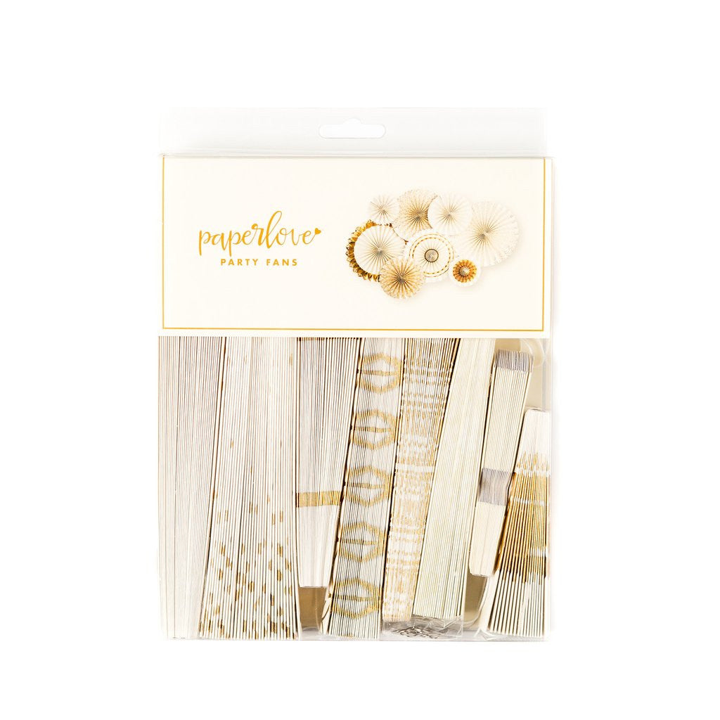 Fancy That Wedding Party Fans, Partyware, My Mind's Eye - 3LittlePicks