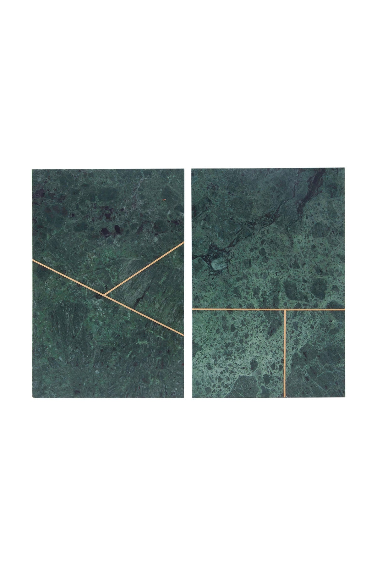Rectangular Green Marble Board