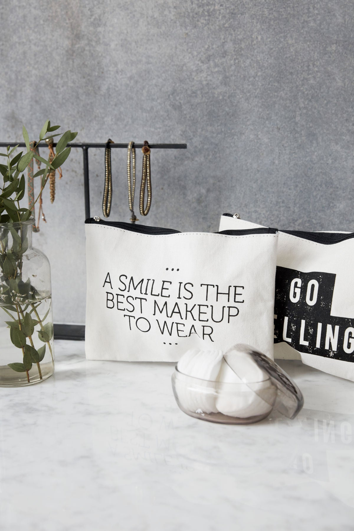 Smile Makeup Bag