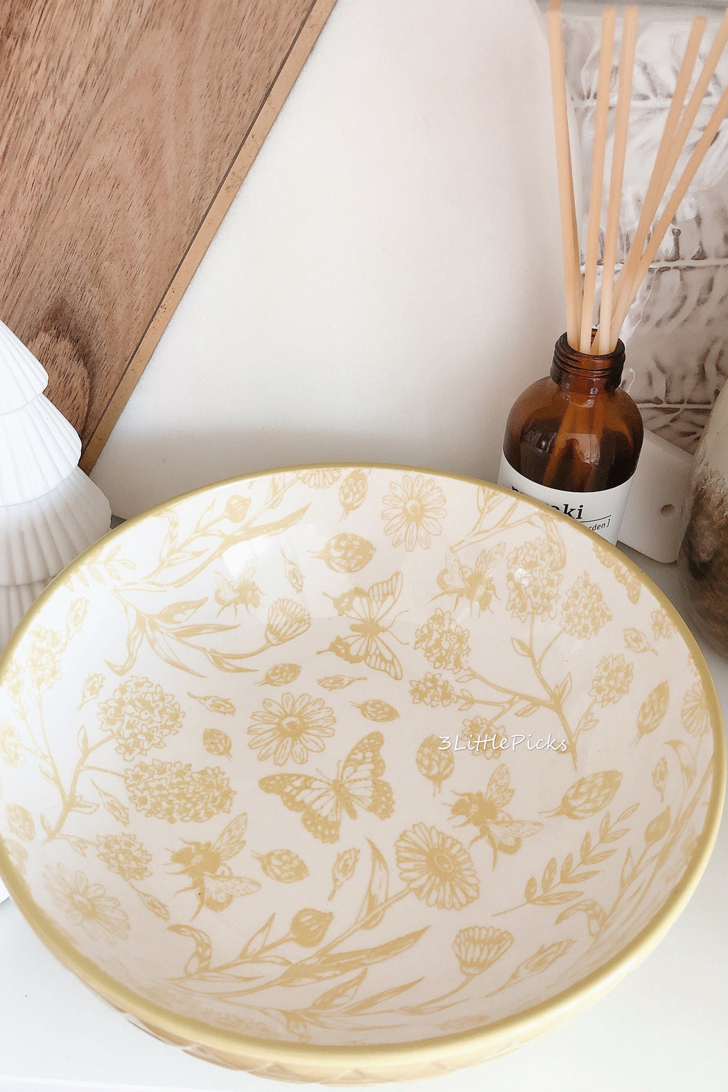 PRE-ORDER: Pastel Mustard Green Soup Plate