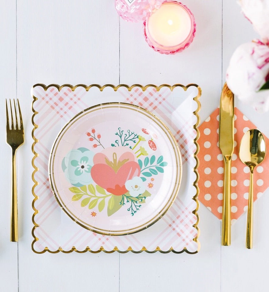 Garden Party Paper Plates (2 sizes)